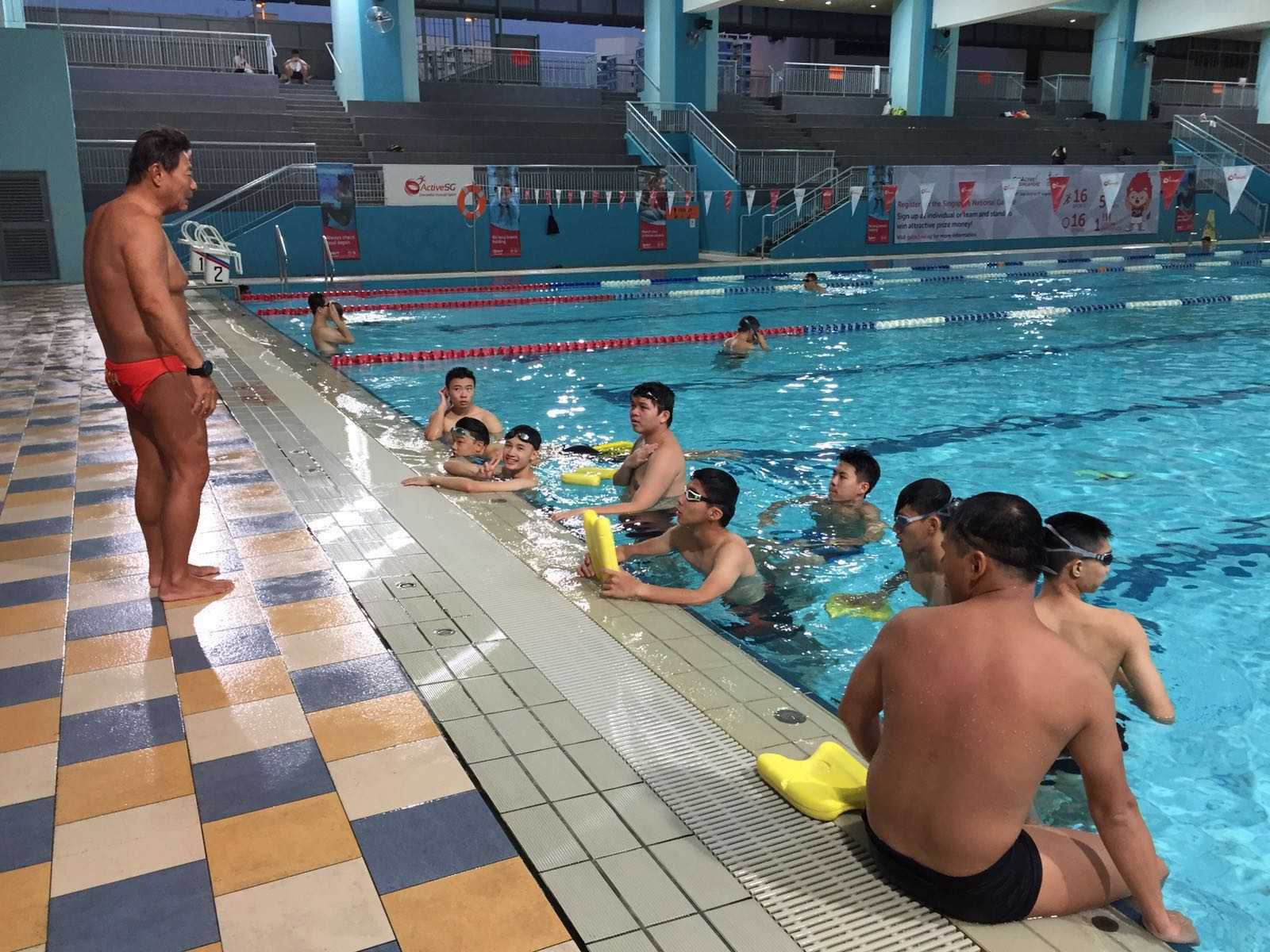 Lifesaving Swimming Lessons